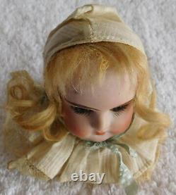 Antique Vintage Porcelain Ruth Doll Head