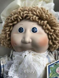 Applause Limited Edition 16 inch Vintage Porcelain Betsy Ross Cabbage Patch Doll