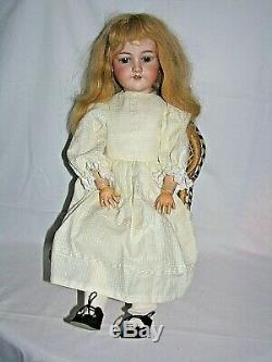 Armand Marseille doll, 26 porcelain and composition, vintage, Germany