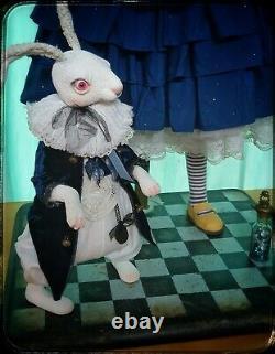 Art Doll Handmade by an artist Porcelain doll moving doll