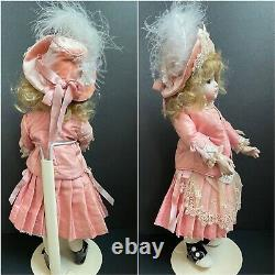Artist Reproduction of Antique French A9 Steiner Girl Doll Porcelain/Composition
