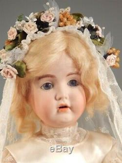 Artist Signed Antique Reproduction Germany #174 Porcelain Doll