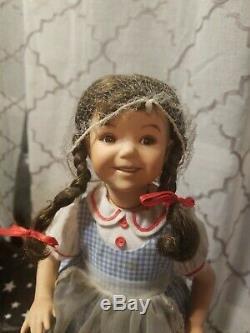 Ashton Drake Vintage Rare Wizard Of Oz Dorothy 13 Porcelain Doll