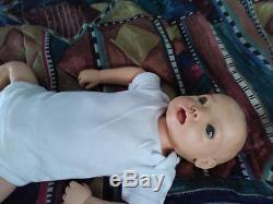 Baby Annie lifelike doll vintage hospital training doll