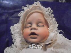 Bambola Vintage In Porcellana-vestito Sartoriale-nuova- Porcelain Doll