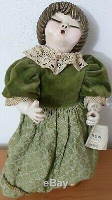Bambole Thun vintage Sophie & Pupilla. Serie lene Puppen Sophie e Pupilla