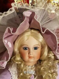 Barbara Otta Jumeau Antique Victorian Reproduction Doll 26 Full Porcelain Doll