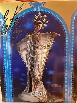 Barbie STARDUST Porcelain Collectible Designed by ERTE Lmtd Ed 1995 #10993