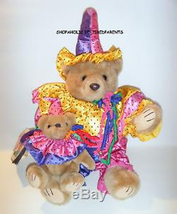 Bearly People Bears -calypso Clowns Vintage 1993 -collectable -rare -mint Cond