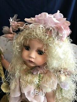 Beautiful Vintage Rare Duck House Heirloom Porcelain Doll Fairy Lamp Nightlight
