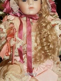 Bebe Bru Doll Josie Orihuela Mull Gorgeous Reproduction 22 inch Full Porcelain
