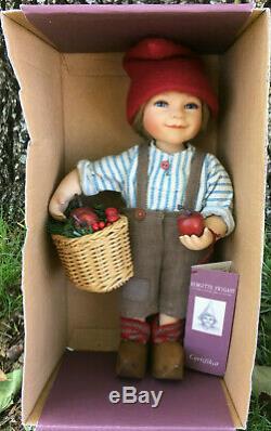 Birgitte Frigast Denmark Doll Pelle 10 LNIB with Certificate Vintage Danish