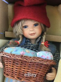Birgitte Frigast Denmark Doll Rikke with Certificate 10 LNIB Vintage