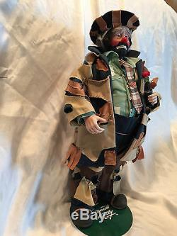 COLLECTIBLE 100th ANNIVERSARY COCA-COLA EMMETT KELLY TO MARKET CLOWN DOLL