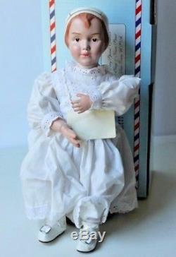 COLLECTIBLE CONCEPTS 14 Wood Doll RARE Schoenhut Girl NIB Vintage Large