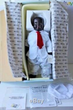 COLLECTIBLE CONCEPTS 18 Porcelain Doll RARE Alabama baby boy NIB Vintage