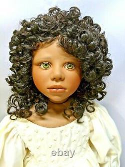 Christine Orange Seraphina Porcelain Dolls Ltd With Coa Elite Doll