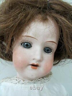 DOLL, Antique Porcelain Head, Marked IntaglioHeubach koppelsdorf, Germany, 1920
