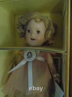 Danbury Mint THE SHIRLEY TEMPLE ANTIQUE DOLL 14 Porcelain Doll MIB Replica