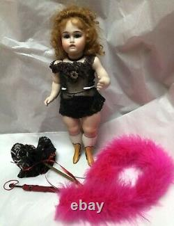 Darlene Lane Wrestler Leg- The Gilded Lily 2007 UFDC Antique Doll Reproduction