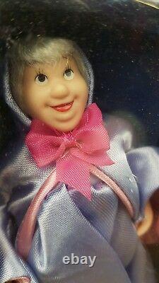 Disney Porcelain China Vintage Doll Detailed Collection Cinderella Rare 5 set