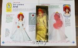 Disney Porcelain China Vintage Doll Detailed Collection the Little Mermaid Rare