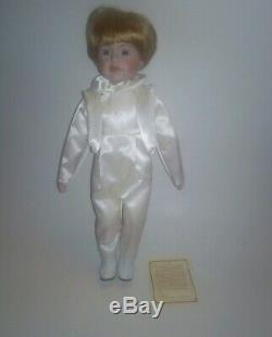 Dynasty (vintage/porcelain) Doll Collection(blue Eyes)- Ring Bearer