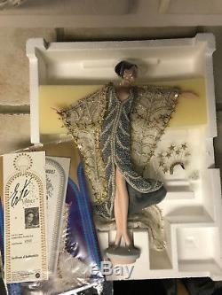 Erte Stardust Vintage Barbie Porcelain Art Doll Limited Edition 1st In Series