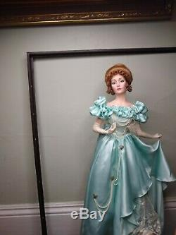 Franklin Mint Heirloom A Night At The Opera Rare Doll Vintage