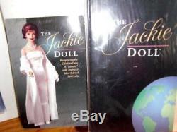 Franklin Mint Vintage 1990s Beautiful Porcelain 15 Jackie Doll