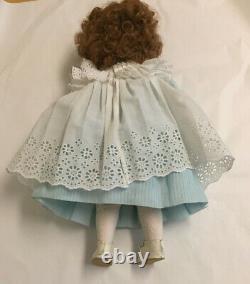 French 17 Porcelain Doll Repro BRU JNE 9 PW blue eyes Compo Body