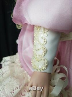 GORGEOUS Rare Vintage Porcelain doll Amanda Artist Rustie SIGNED