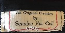 Genuine Nun Doll by Blessings. Rare. Vintage 1985