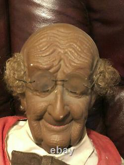 Grandma & Grandpa Unique Strange Old Man Woman Odd Weird Creepy Rare Dolls 36