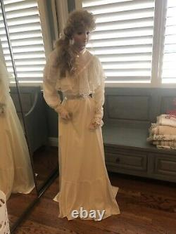 Handmade Lady Grace Reproduction Bru Life size Bisque Mannequin OOAK