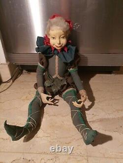Haunted Active Vintage Porcelain Spirit Doll Demetria Evil Demon