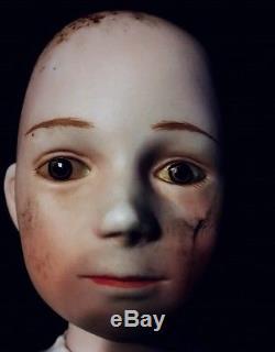 Haunted vintage doll 16 Porcelain