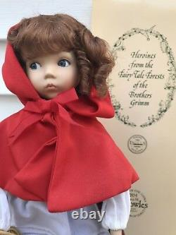 Heroines From The Fairy Tale Forests Little Red Riding Hood Porcelain Doll