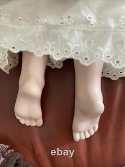 Hildegard Gunzel Doll with Blonde Hair, Blue Eyes-26 Tall Porcelain Heidi