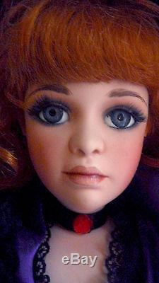 Jan McLean Masterpiece Vintage French Floozies Pearl porcelain doll