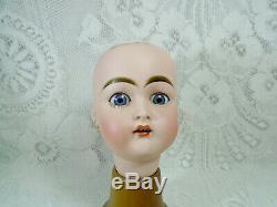 Kammer Reinhardt or Kestner 192, antique porcelain doll head, 5.5, Germany