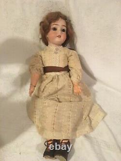 Kestner Vintage Doll Porcelain Head Composite Body NR