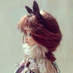Ksenia. Handmade doll, Boudoir Collectible Art Doll, Vintage Doll, Antique doll