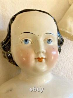 Large Kestner 26 German China Head Blue Eyes Orig Body