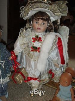 Large Lot/150-victorian Style-porcelain Dolls/barbies/vintage/babies/many Types