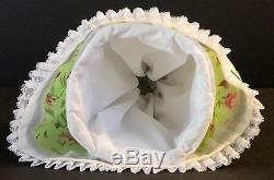 Large RARE Vintage German Karl Ens Boudoir Porcelain Half Doll Tea Cozy
