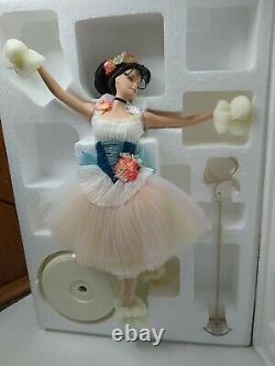 Lighter Than Air Barbie Doll Porcelain Prima Ballerina with Shipper 29905 NRFB