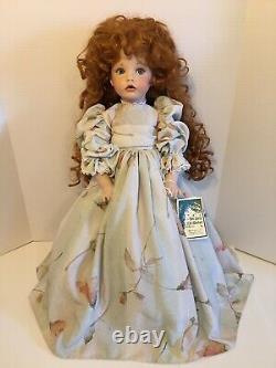 Linda Rick The Doll Maker Fiona Porcelain Doll 24 SIGNEDBEAUTIFUL93/1000