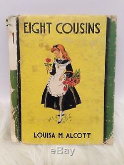 Little Women 5 Porcelain Dolls Amy Beth Meg Jo Marmee Ashton Drake Vtg1938 Book