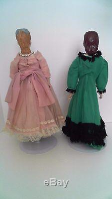 Little Women Dolls Vintage Handmade Porcelain Mary Award Winners Fawn Zeller